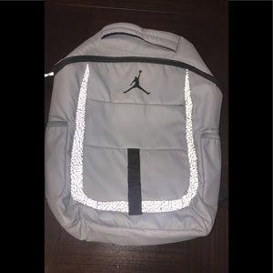 Grey Jordan backpack